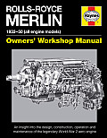 Rolls-Royce Merlin Manual - 1933-50 (All Engine Models): An Insight Into the Design, Construction, Operation and Maintenance of the Legendary World Wa (Owners' Workshop Manual)