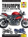 Triumph 1050 Sprint, Speed Triple & Tiger Service and Repair Manual