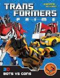 Transformers Prime: 3D Bots VS Cons