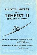 Hawker Tempest II - Pilot's Notes - Op