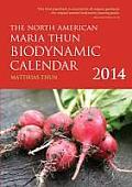 North American Maria Thun Biodynamic Calendar 2014