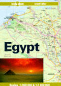 Lonely Planet Egypt Travel Atlas 1st Edition