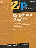 Zip Around Directions Games: Ready-To-Use, Interactive Activities to Practice Reading and Active Listening