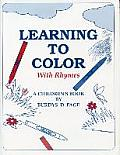 Learning to Color with Rhymes