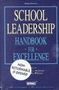 School Leadership Handbook For Excellen 3rd Edition