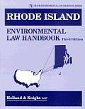 Rhode Island Environmental Law Handbook