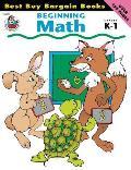 Beginning Math Grades K To One