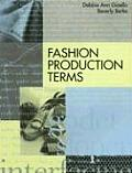 Fashion Production Terms