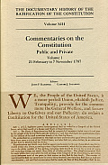 The Documentary History of the Ratification of the Constitution, Volume XIII: Commentaries on the Constitution, Public and Private: Volume 1, 21 Febru