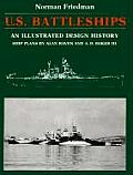 US Battleships An Illustrated Design History
