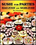 Sushi For Parties Maki Sushi & Nigiri Sushi