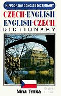 Concise Czech English Dictionary Revised Edition