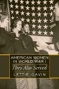 American Women in World War 1 (06 Edition)