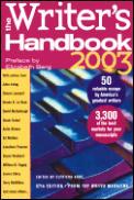 Writers Handbook 2003