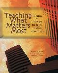 Teaching What Matters Most Standards & Strategies for Raising Student Achievement