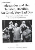 Alexander & the Terrible Horrible No Good Very Bad Day Book & Lyrics