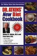 Dr. Atkins New Diet Cookbook Cover
