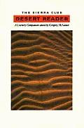 Sierra Club Desert Reader A Literary Com