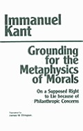 Grounding for the Metaphysics of Morals Cover