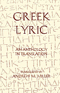 Greek Lyric an Anthology in Translation