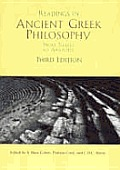 Readings In Ancient Greek Philosophy 3rd Edition