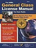 ARRL General Class License Manual Radio Operators 6th Edition