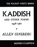 Pocket Poets Series #14: Kaddish and Other Poems: 1958-1960