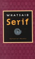 Whatsaid Serif