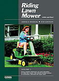 Riding Lawn Mower Service Manual Cover