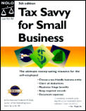 Tax Savvy For Small Business Year Roun