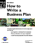 How To Write A Business Plan 6th Edition