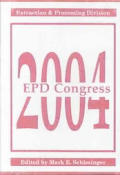 EPD Congress, 2004; proceedings. CD-ROM