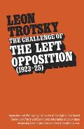 Challenge of the Left Opposition: 1923 to 1925