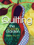 Quilting the Savory Garden Cover