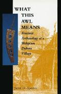 What This Awl Means Feminist Archaeology at a Wahpeton Dakota Village