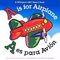 A Is For Airplane A Es Para Avion