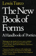 New Book of Forms A Handbook of Poetics