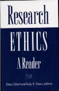 Research Ethics A Reader