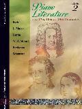 PIANO Literature OF 17TH 18TH & 19TH CENTURIES