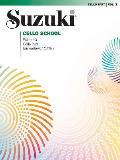 Suzuki Cello School Cello Part Volume 3