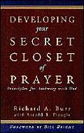 Developing Your Secret Closet Of Prayer