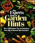 Experts Book Of Garden Hints Over 1500