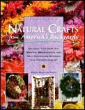 Natural crafts from America's backyards :decorate your home with wreaths, arrangements, and wall decorations gathered from nature's harvest