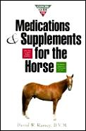 Concise guide to medications and supplements for the horse