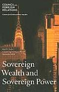 Sovereign Wealth and Sovereign Power