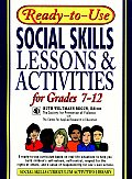 Ready-To-Use Social Skills Lessons and Activities for Grades 7-12