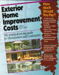 Exterior Home Improvement Costs The 6th Edition