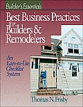 Builder's Essentials: Successful Business Practices/Building & Remodeling (Means Builder's Essentials)