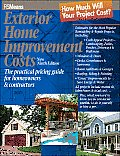 Exterior Home Improvement Costs 9th Edition The Practical Pricing Guide for Homeowners & Contractors