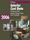 2006 Interior Cost Data (Means Interior Cost Data)